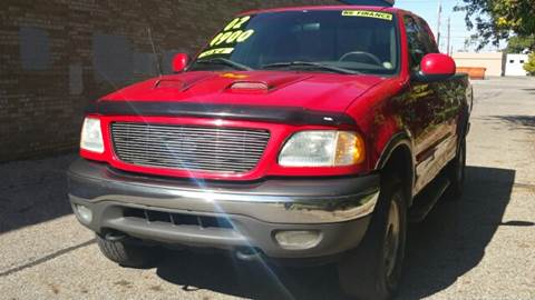 2002 Ford F-150 for sale at Capitol Auto Sales in Lansing MI