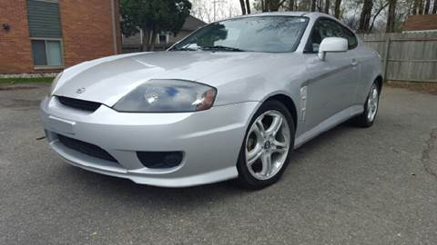 2005 Hyundai Tiburon for sale at Capitol Auto Sales in Lansing MI