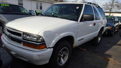 2002 Chevrolet Blazer for sale at Capitol Auto Sales in Lansing MI