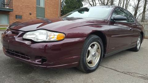2003 Chevrolet Monte Carlo for sale at Capitol Auto Sales in Lansing MI