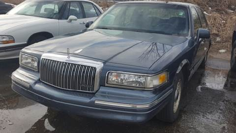 1996 Lincoln Town Car for sale at Capitol Auto Sales in Lansing MI