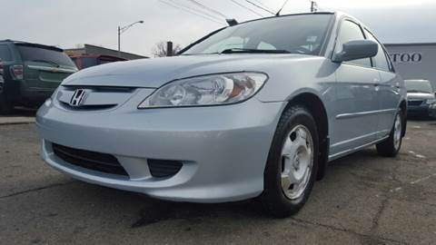 2004 Honda Civic for sale at Capitol Auto Sales in Lansing MI