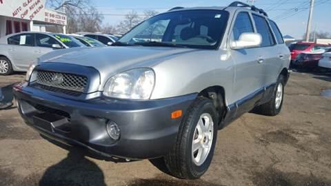 2004 Hyundai Santa Fe for sale at Capitol Auto Sales in Lansing MI