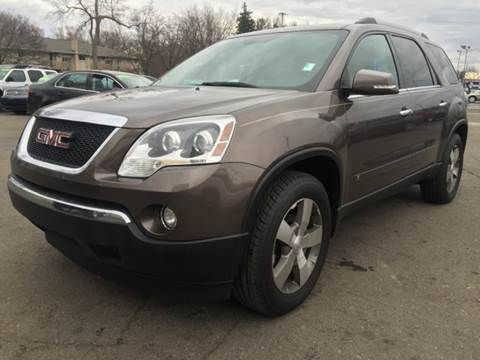 2010 GMC Acadia for sale at Capitol Auto Sales in Lansing MI