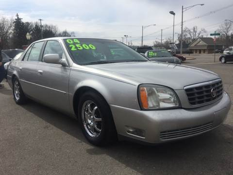 2004 Cadillac DeVille for sale at Capitol Auto Sales in Lansing MI