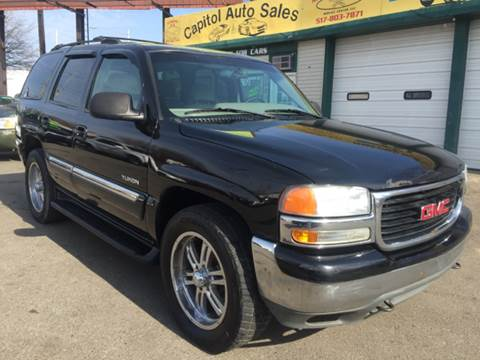 2001 GMC Yukon for sale at Capitol Auto Sales in Lansing MI