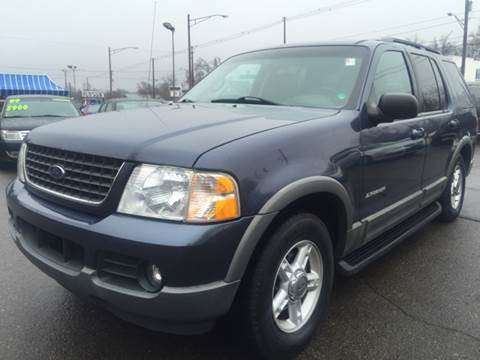 2002 Ford Explorer for sale at Capitol Auto Sales in Lansing MI