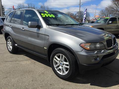 2005 BMW X5 for sale at Capitol Auto Sales in Lansing MI