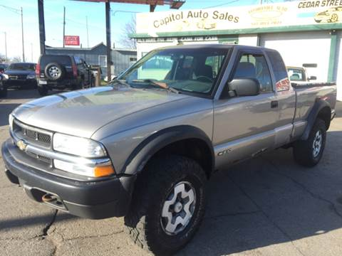 2001 Chevrolet S-10 for sale at Capitol Auto Sales in Lansing MI