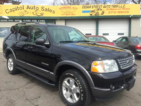2004 Ford Explorer for sale at Capitol Auto Sales in Lansing MI