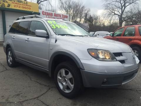 2003 Mitsubishi Outlander for sale at Capitol Auto Sales in Lansing MI