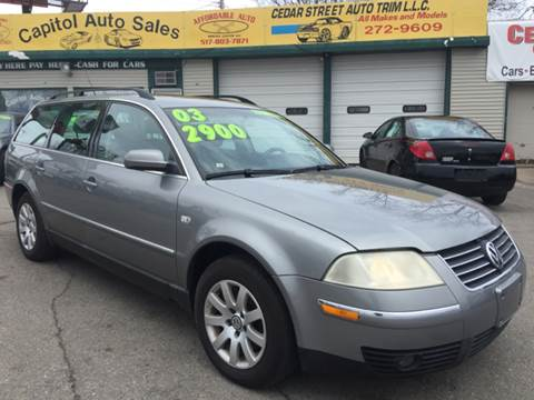 2003 Volkswagen Passat for sale at Capitol Auto Sales in Lansing MI
