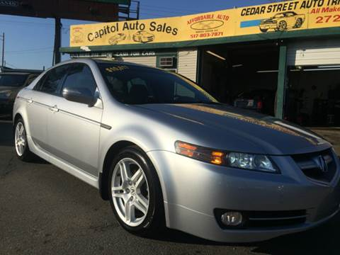 2007 Acura TL for sale at Capitol Auto Sales in Lansing MI