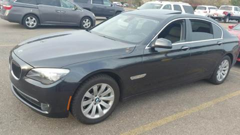 2011 BMW 7 Series for sale at Capitol Auto Sales in Lansing MI
