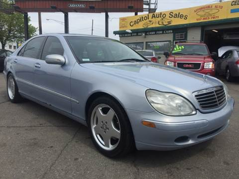 2000 Mercedes-Benz S-Class for sale at Capitol Auto Sales in Lansing MI