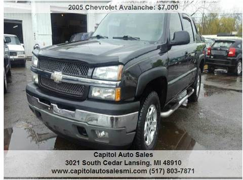 2005 Chevrolet Avalanche for sale at Capitol Auto Sales in Lansing MI