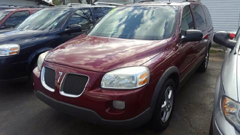 2005 Pontiac Montana SV6 for sale at Capitol Auto Sales in Lansing MI