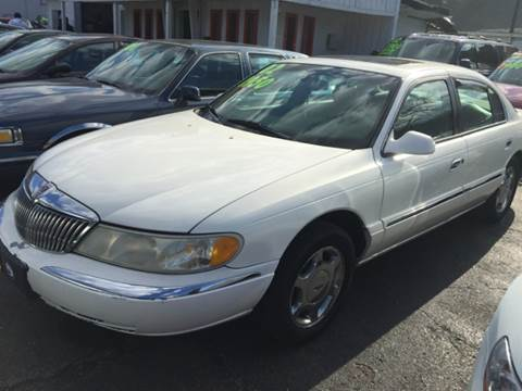 2002 Lincoln Continental for sale at Capitol Auto Sales in Lansing MI