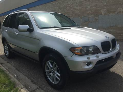 2004 BMW X5 for sale at Capitol Auto Sales in Lansing MI
