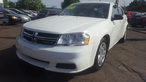 2011 Dodge Avenger for sale at Capitol Auto Sales in Lansing MI