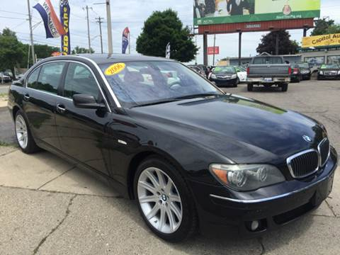 2006 BMW 7 Series for sale at Capitol Auto Sales in Lansing MI
