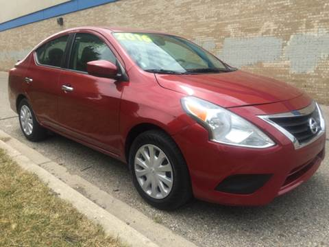 2016 Nissan Versa for sale at Capitol Auto Sales in Lansing MI