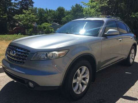 2005 Infiniti FX35 for sale at Capitol Auto Sales in Lansing MI