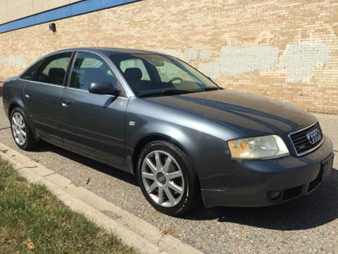 2004 Audi A6 for sale at Capitol Auto Sales in Lansing MI
