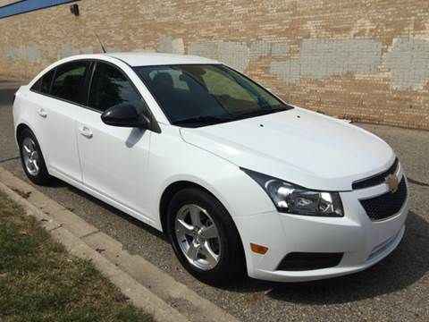 2014 Chevrolet Cruze for sale at Capitol Auto Sales in Lansing MI