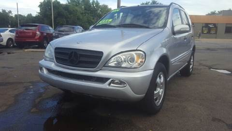 2003 Mercedes-Benz M-Class for sale at Capitol Auto Sales in Lansing MI