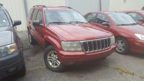 2002 Jeep Grand Cherokee for sale at Capitol Auto Sales in Lansing MI