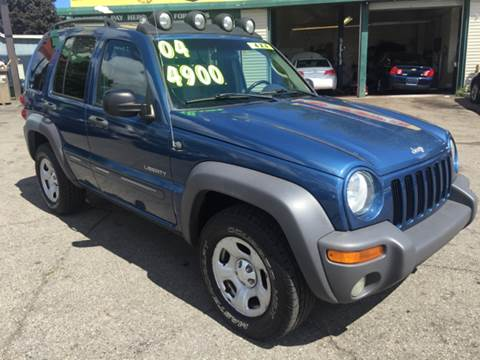 2004 Jeep Liberty for sale at Capitol Auto Sales in Lansing MI
