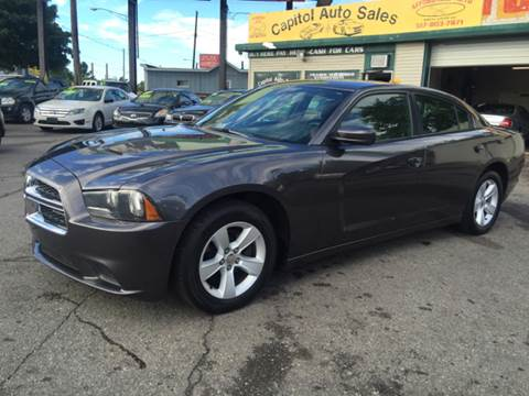 2014 Dodge Charger for sale at Capitol Auto Sales in Lansing MI