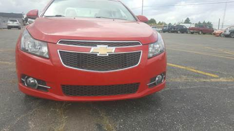2012 Chevrolet Cruze for sale at Capitol Auto Sales in Lansing MI