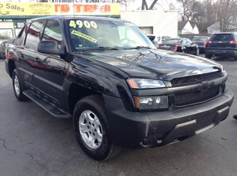 2002 Chevrolet Avalanche for sale at Capitol Auto Sales in Lansing MI