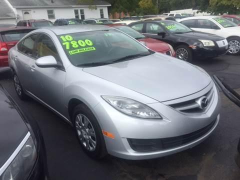 2010 Mazda MAZDA6 for sale at Capitol Auto Sales in Lansing MI