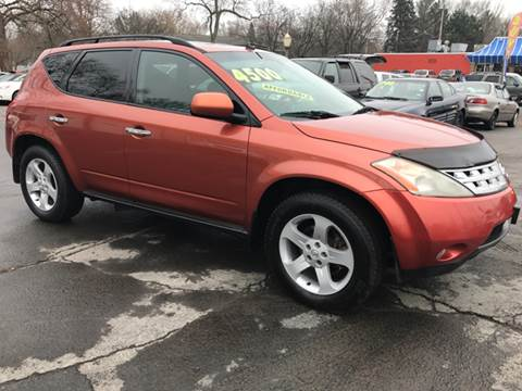 2003 Nissan Murano for sale at Capitol Auto Sales in Lansing MI