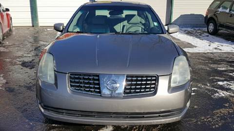 2004 Nissan Maxima for sale at Capitol Auto Sales in Lansing MI