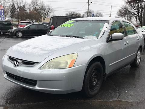 2004 Honda Accord for sale at Capitol Auto Sales in Lansing MI