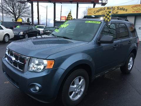 2011 Ford Escape for sale at Capitol Auto Sales in Lansing MI