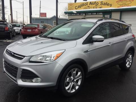 2013 Ford Escape for sale at Capitol Auto Sales in Lansing MI