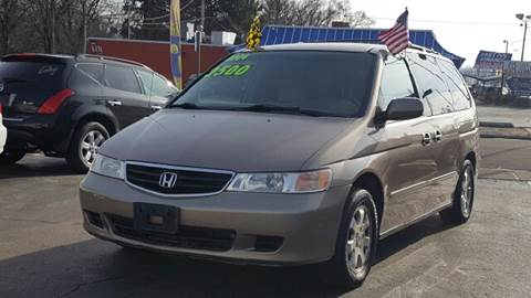 2004 Honda Odyssey for sale at Capitol Auto Sales in Lansing MI
