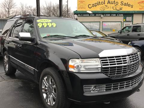 2007 Lincoln Navigator for sale at Capitol Auto Sales in Lansing MI