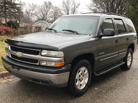 2002 Chevrolet Tahoe for sale at Capitol Auto Sales in Lansing MI