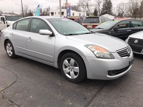 2007 Nissan Altima for sale at Capitol Auto Sales in Lansing MI