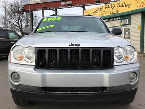 2005 Jeep Grand Cherokee for sale at Capitol Auto Sales in Lansing MI