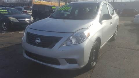 2013 Nissan Versa for sale at Capitol Auto Sales in Lansing MI