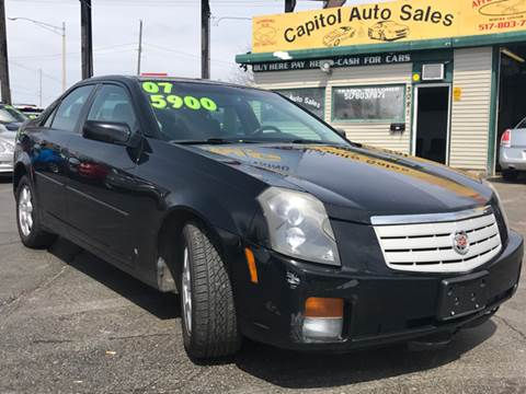 2007 Cadillac CTS for sale at Capitol Auto Sales in Lansing MI