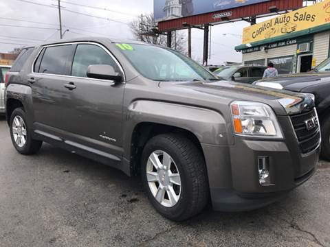 2010 GMC Terrain for sale at Capitol Auto Sales in Lansing MI
