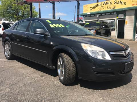 2008 Saturn Aura for sale at Capitol Auto Sales in Lansing MI